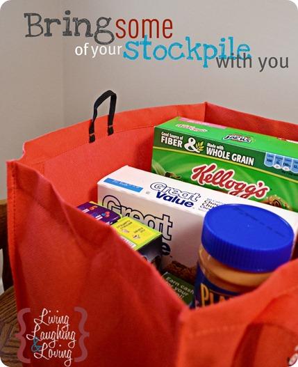 bring stockpile