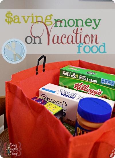 saving money on vacation food