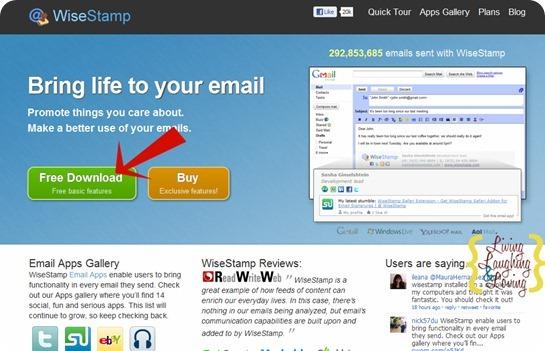 wisestamp click free download