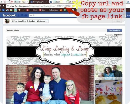copy paste landing page url 2