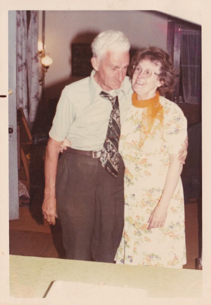 Harold and Frances 42nd anniversary_1975