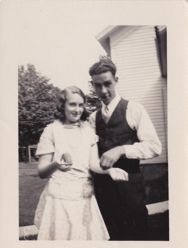 Harold and Francis Dating 1934